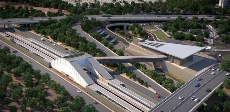 Ramla South station  / Photo: New age media, PR