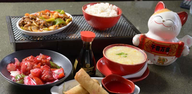 האגרול ומרק התירס של סינג לונג / צילום: איל יצהר