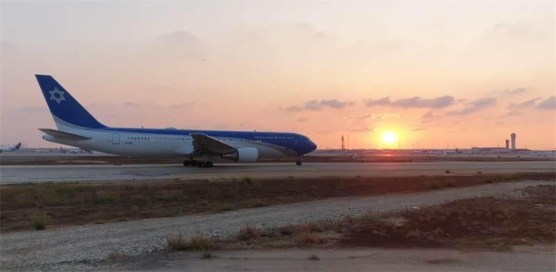 מטוס הבואינג החדש של ראשי המדינה / צילום: התעשייה האווירית