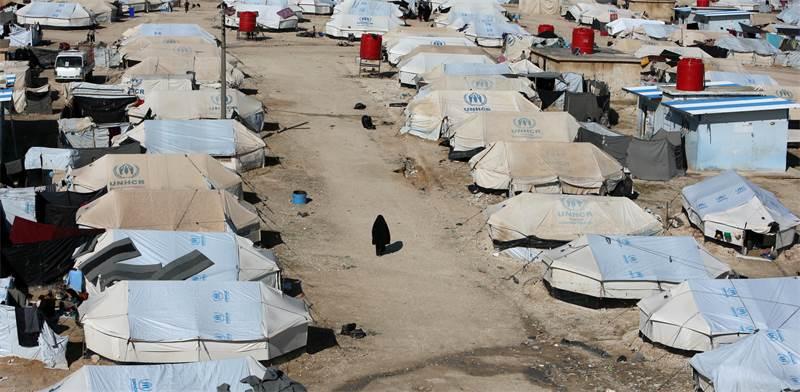 מחנה הפליטים אל-האול, סוריה / צילום: Ali Hashisho, רויטרס