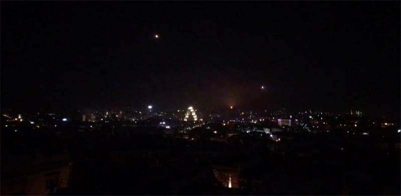 תקיפה בדמשק, סוריה / צילום: רויטרס