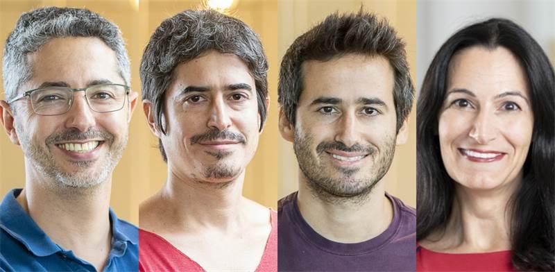 נטע קורין, דניאל פלד, אוריאל פלד וטל קול, מייסדים שותפים בחברת אורבס / צילום: אורבס