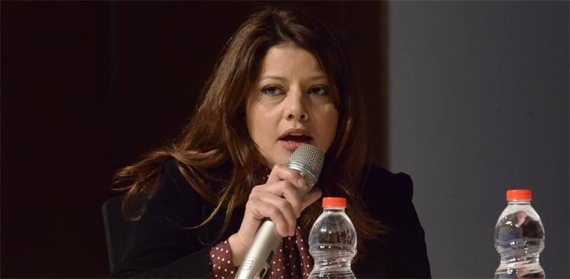 """אורלי לוי-אבקסיס בוועידת ישראל לנדל""""ן / צילום: איל יצהר"""