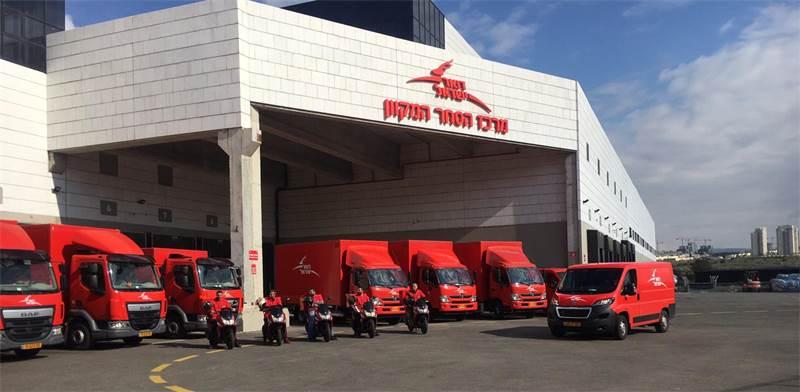 """מרכז הסחר המקוון של דואר ישראל. תומך גם ביצואנים/צילום: יח""""צ"""