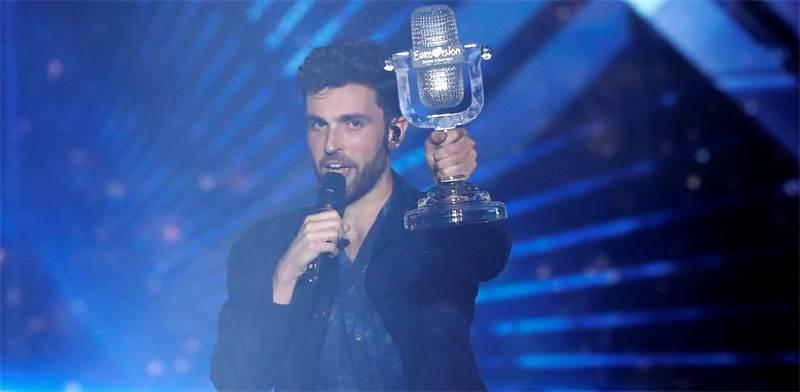 דנקן לורנס, הזוכה באירוויזיון 2019 / צילום: REUTER, Ronen Zvulun