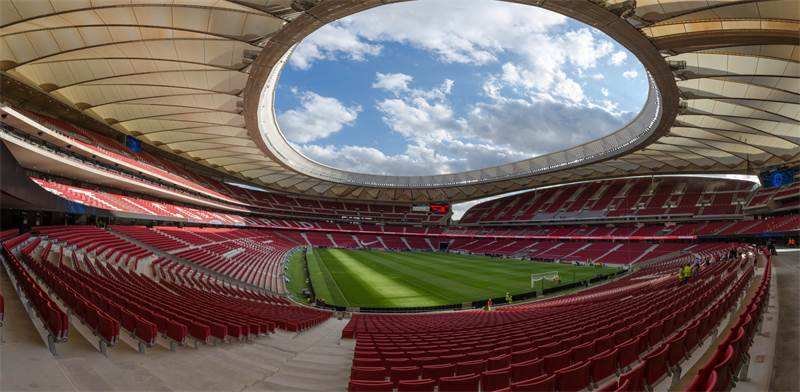 אצטדיון ונדה מטרופוליטנו במדריד / צילום: Sergio Pinilla, Shutterstock