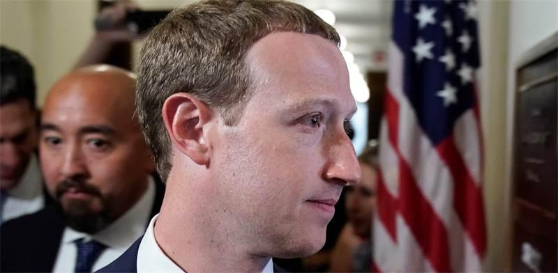 """מארק צוקרברג, מייסד ומנכ""""ל פייסבוק / צילום: ג'ושוע רוברטס, רויטרס"""