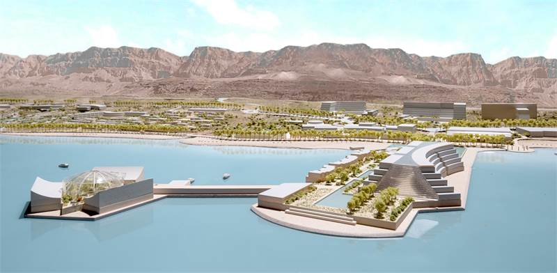 New Dead Sea hotel / Photo: Moshe Safdie architects , ira prohorov