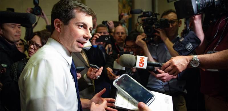 """פיט בודג'אג', אחד מהמועמדים הדמוקרטים לנשיאות ארה""""ב / צילום: Shutterstock"""