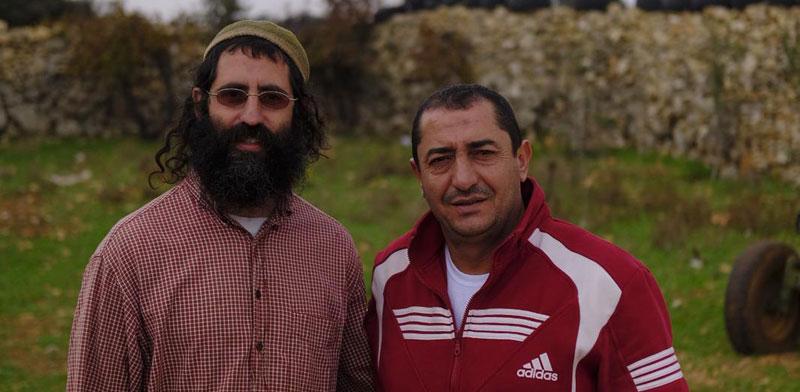 Shaul David Judelman, Khaled Abu-Awwad  photo: Brett Kline