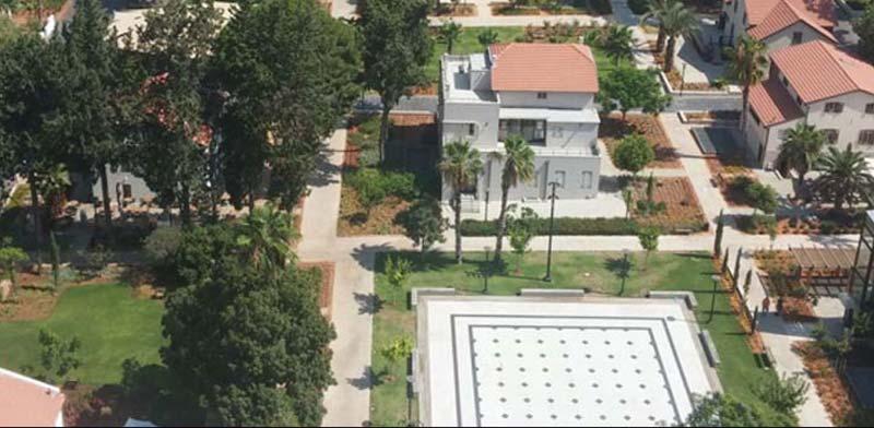 מתחם גני שרונה בתל אביב/ צילום: מצגת החברה