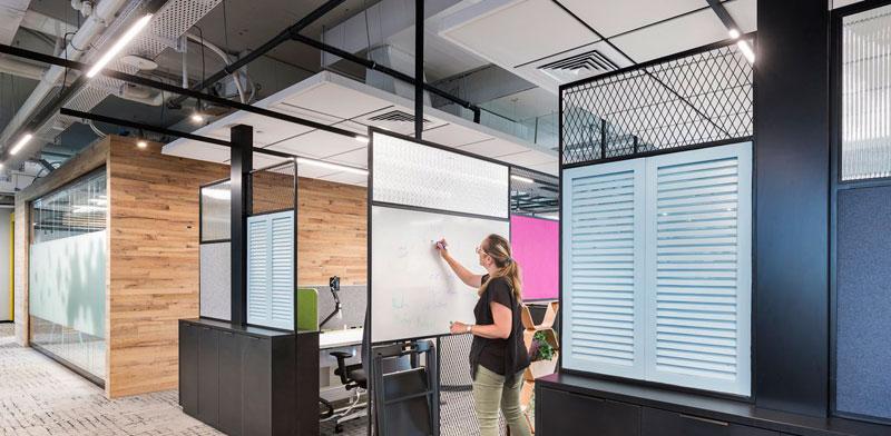 משרדי חברת ARM / צילום: עמית גושר. עיצוב: הדס מקוב אדריכלות פנים
