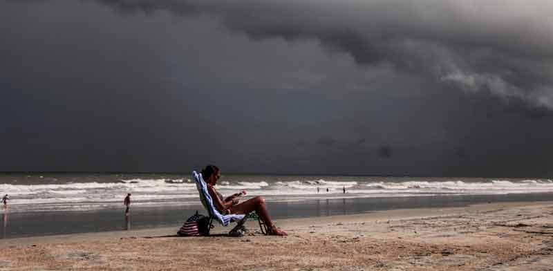 מכת חום / צילום: רויטרס Maria Alejandra Cardona