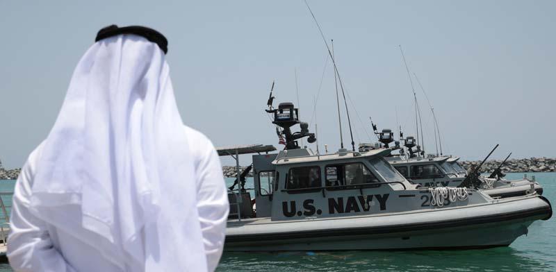 הצי האמריקאי במפרץ הפרסי / צילום: רויטרס, Christopher Pike