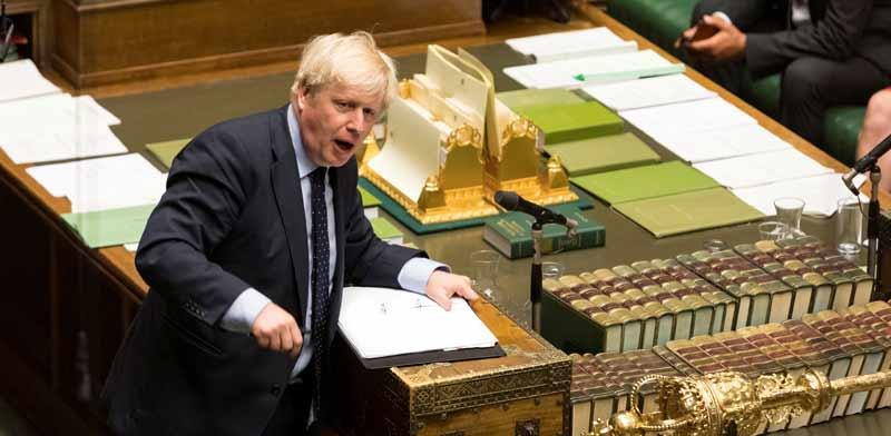 ראש ממשלת בריטניה בוריס ג'ונסון/ צילום: רויטרס