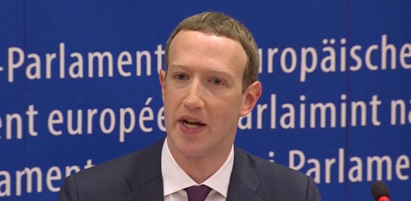"""מארק צוקרברג, מנכ""""ל ומייסד פייסבוק / צילום: ReutersTV"""