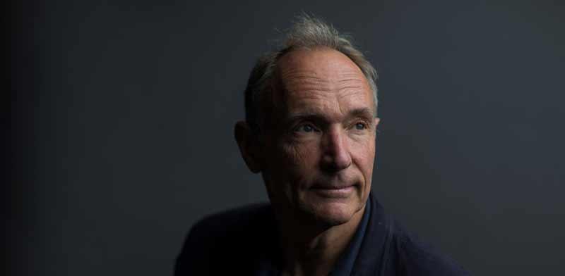 פיטר ברנרס־לי, ממציא רשת האינטרנט העולמית / צילום: רויטרס, Simon Dawson