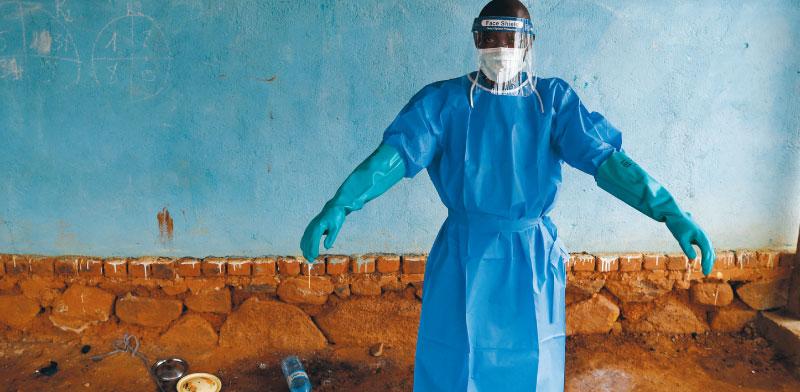 בית חולים בקונגו בו שהה חולה באבולה בדצמבר / צילום: רויטרס, GORAN TOMASEVIC