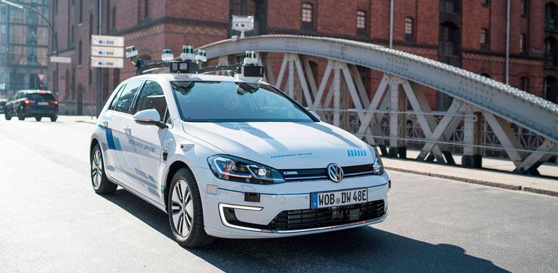 """רכב העתיד של פולקסווגן / צילום: יח""""צ"""