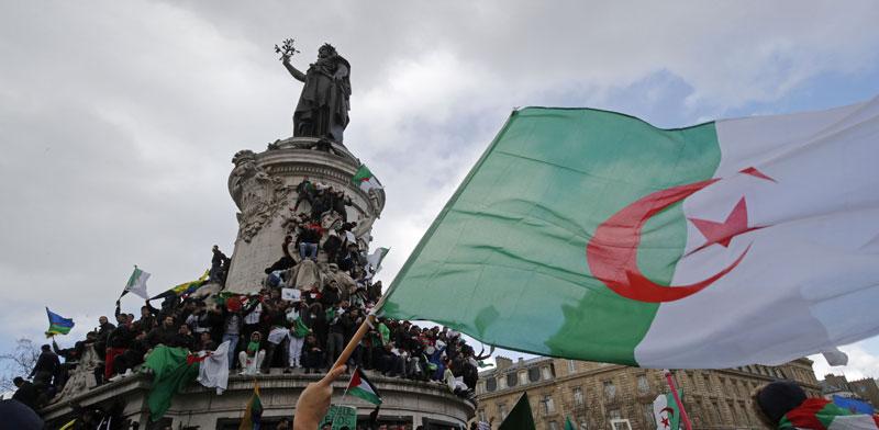 הפגנות באלג'יריה/  צילום:   רויטרס, Philippe Wojazer