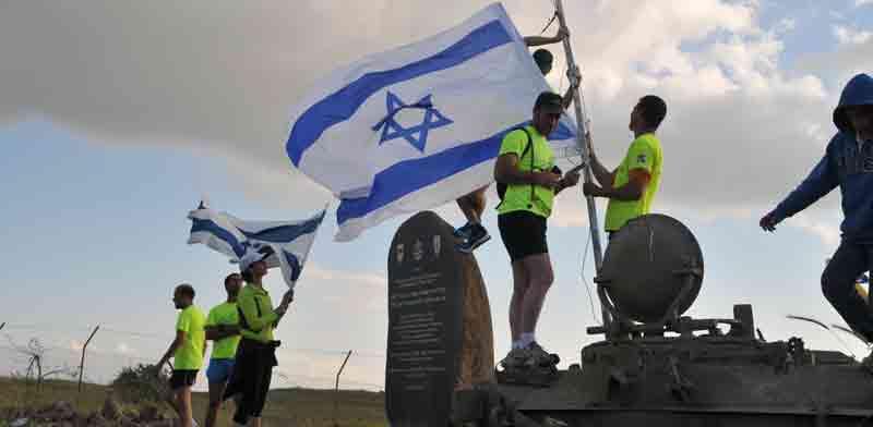 מרוץ האנדרטאות בגולן / אפרת מוסקוביץ