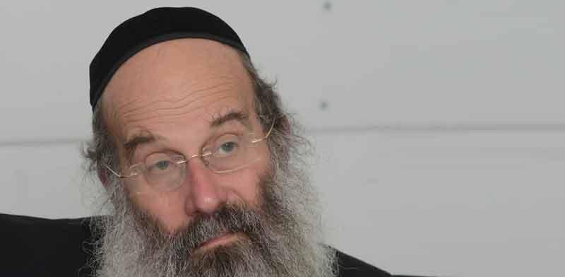 ראש עיריית בני-ברק, אברהם רובינשטיין / צילום: איל יצהר