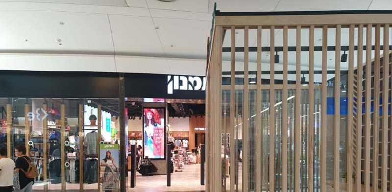 """המבנה בקניון עזריאלי עכו הניצב מול חנות תמנון / צילום: יח""""צ"""