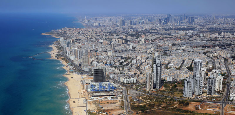 Bat Yam coastline Photo: Shutterstock ASAP Creative
