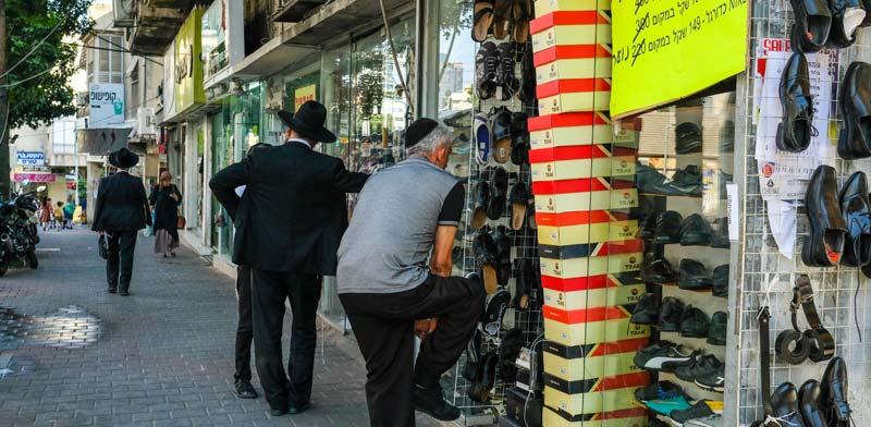 רחוב בבני-ברק / צילום: שלומי יוסף