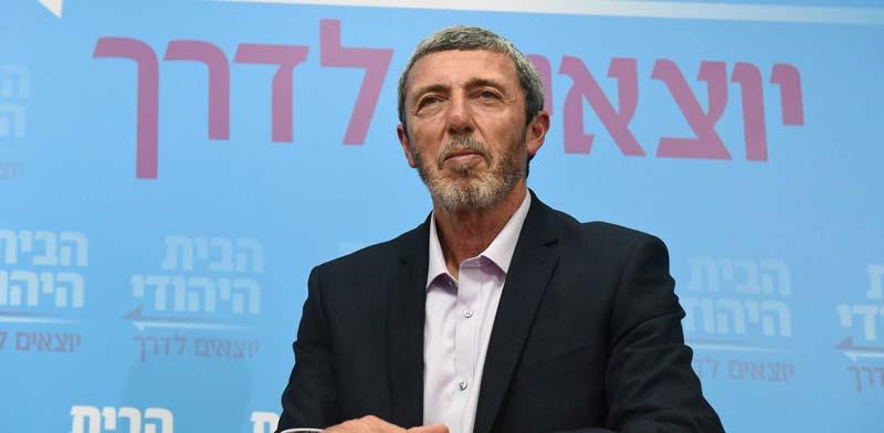 """רפי פרץ, יו""""ר הבית היהודי / צילום: רובי קסטרו, וואלה חדשות"""