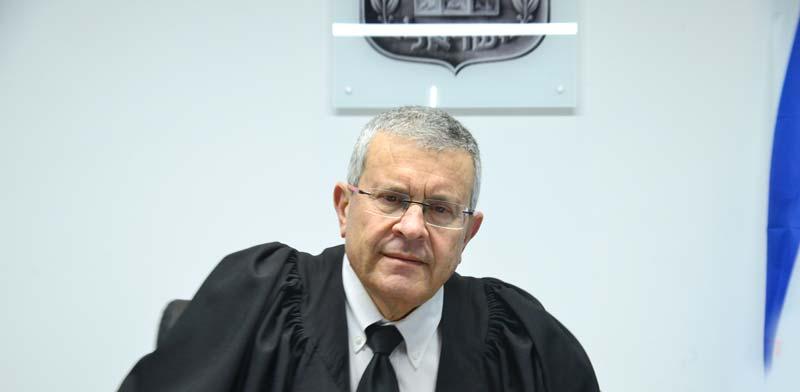 השופט בדימוס דוד רוזן, נציב התלונות על מייצגי המדינה בערכאות / צילום: תמר מצפי