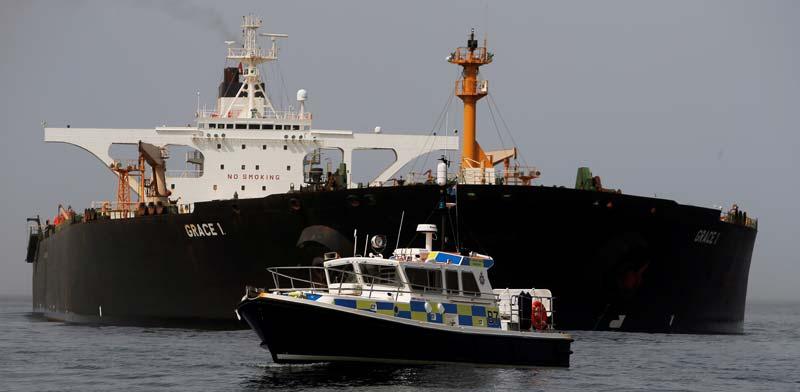 מעצר מכלית הנפט האיראנית,  / צילום:: רויטרס