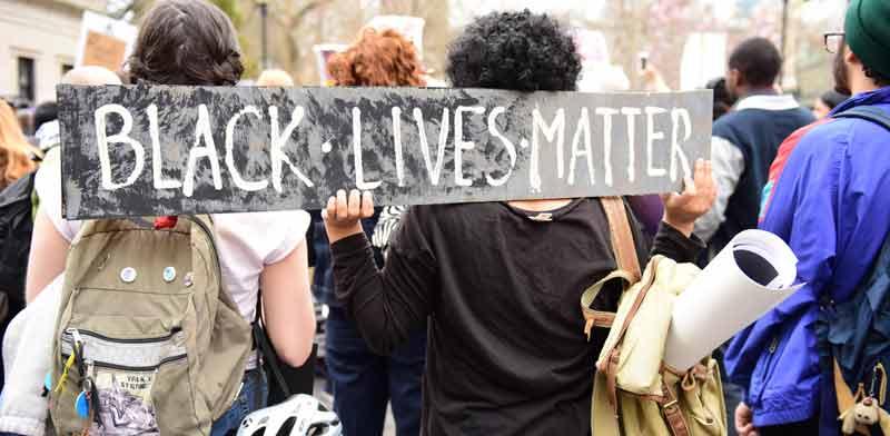 """תנועת Black Lives Matter בארה""""ב / צילום: Shutterstock, אס איי פי קריאייטיב"""