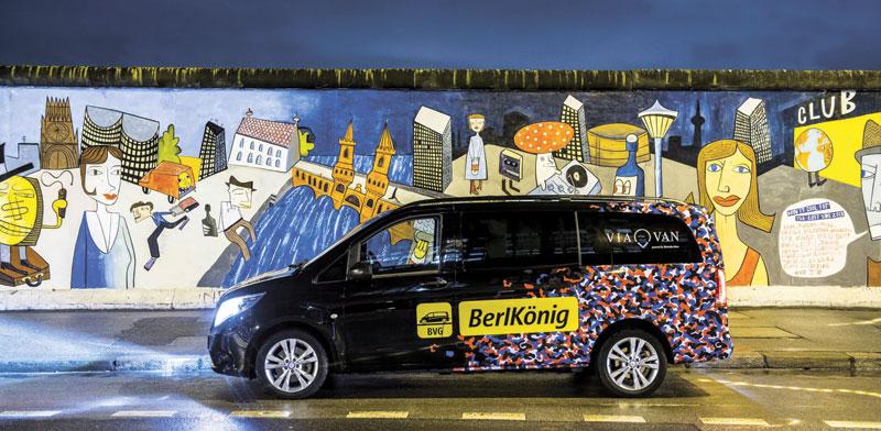 Via minibus Photo: Via