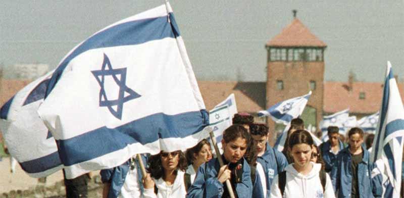 משלחת תלמידים לאושוויץ/ צילום: רויטרס