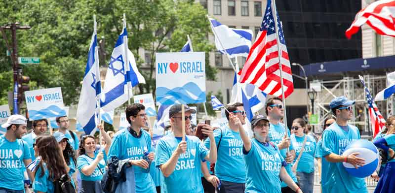 מצעד תמיכה בישראל, ניו־יורק, יוני 2019./ צילום: shutterstock א.ס.א פ קריאייטיב