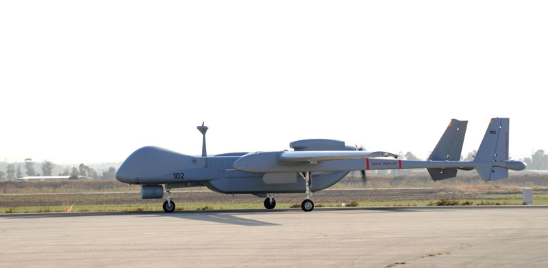Heron UAV Photo: IAI