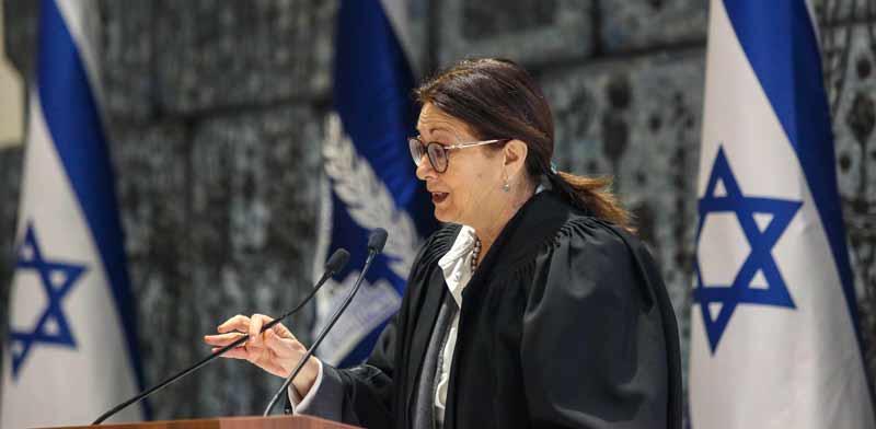 נשיאת בית המשפט העליון, השופטת אסתר חיות / צילום :שלומי יוסף