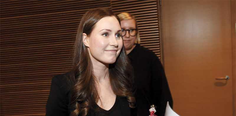 סאנה מארין. מונתה לראש ממשלת פינלנד / צילום: רויטרס