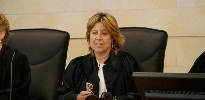נשיאת בית הדין הארצי לעבודה, השופטת ורדה וירט-לבנה / צילום: אוריה תדמור