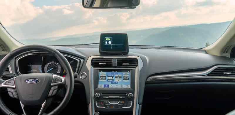 רכב אוטונומי מתוצרת מובילאיי ופורד./ צילום: יחצ