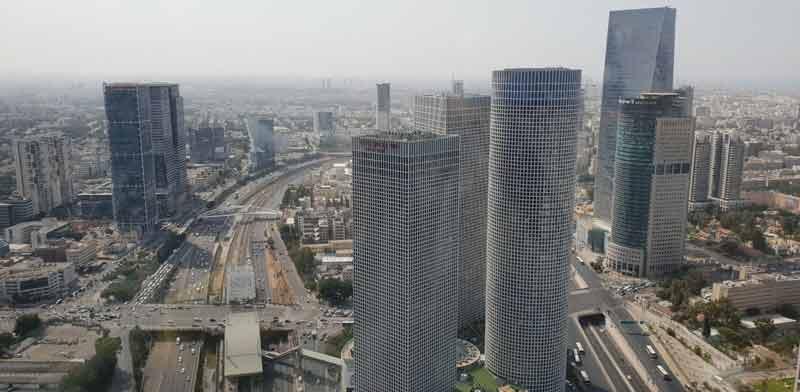 בנייני משרדים בתל אביב / צילום: גיא ליברמן