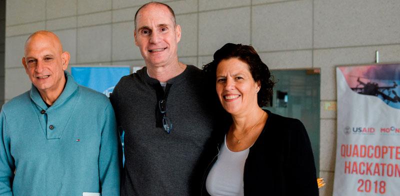יעל יגרמן לביא, אהרון אהרון ורם לוינסון/  צילום: יוליה ברזינה