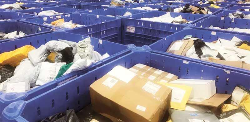 חבילות בדואר/ צילום: מיכל רז־חיימוביץ'