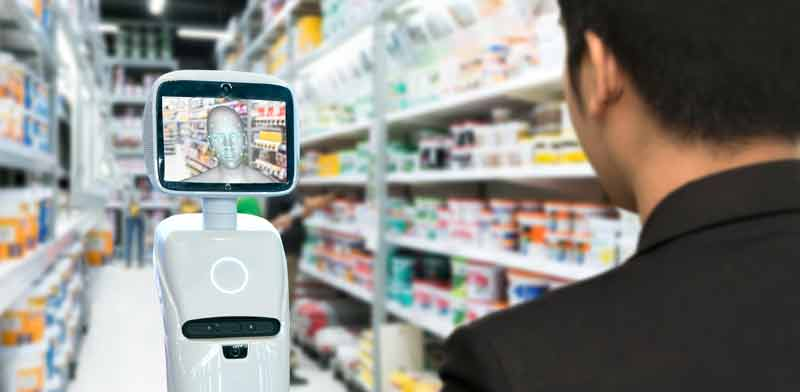 מערכת לזיהוי פנים בחנות / צילום: Shutterstock, א.ס.א.פ קריאייטיב