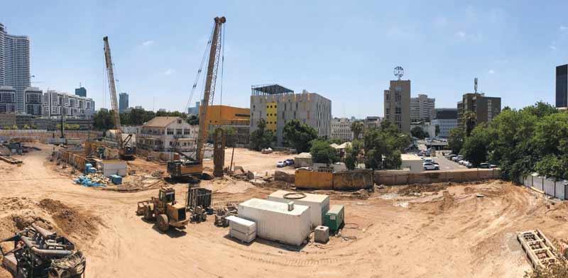 """השטח שבו יבנה פרויקט יונייטד שרונה/  צילום: יניב אלמליח, יח""""צ"""
