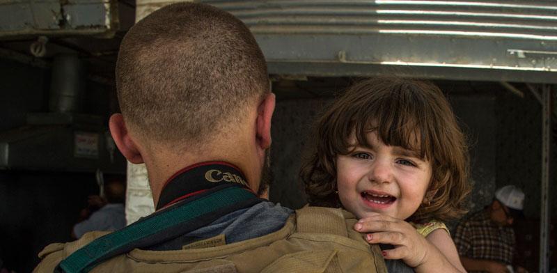 """ארגון """"עיתונאים ללא גבולות"""". זכה בפרס דן דוד / צילום: AFP FADEL SENA"""