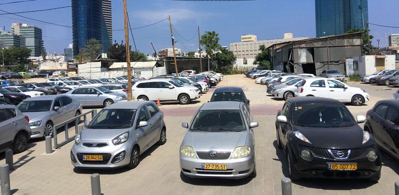 חניה במרכז תל-אביב / צילום: shutterstock