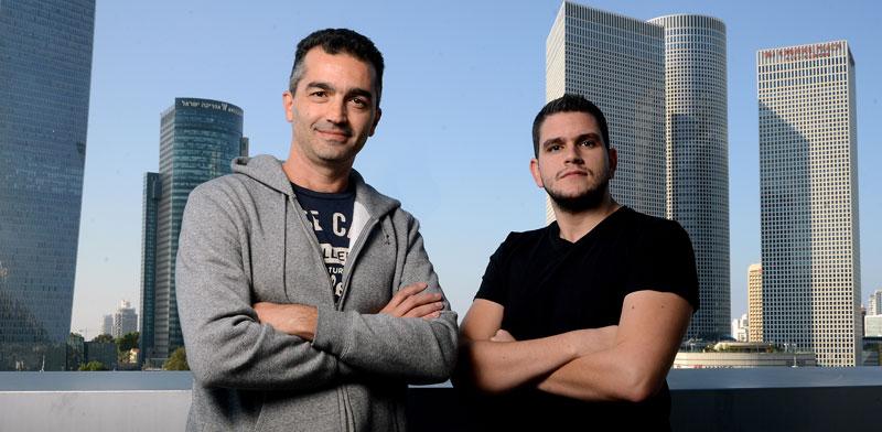 איציק לוי (מימין) ואורי בורנשטיין, מייסדי Whitestream / צילום: איל יצהר
