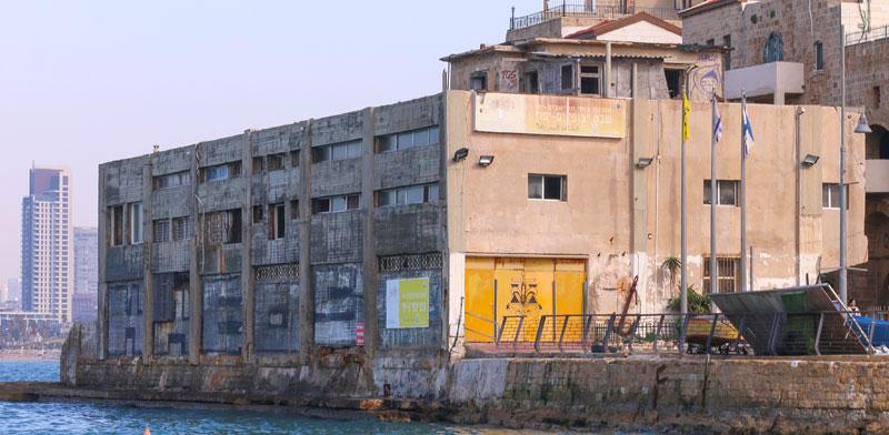 בניין בית המכס הצפוני בטיילת נמל יפו / צילום: כדיה לוי